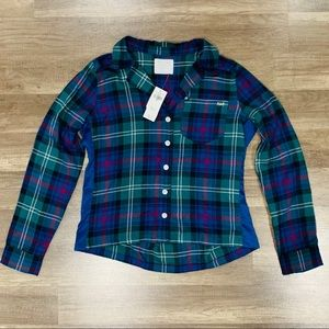 NWT Abercrombie and Fitch Flannel